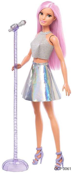 Boneca Barbie Profissões Pop Star - Mattel