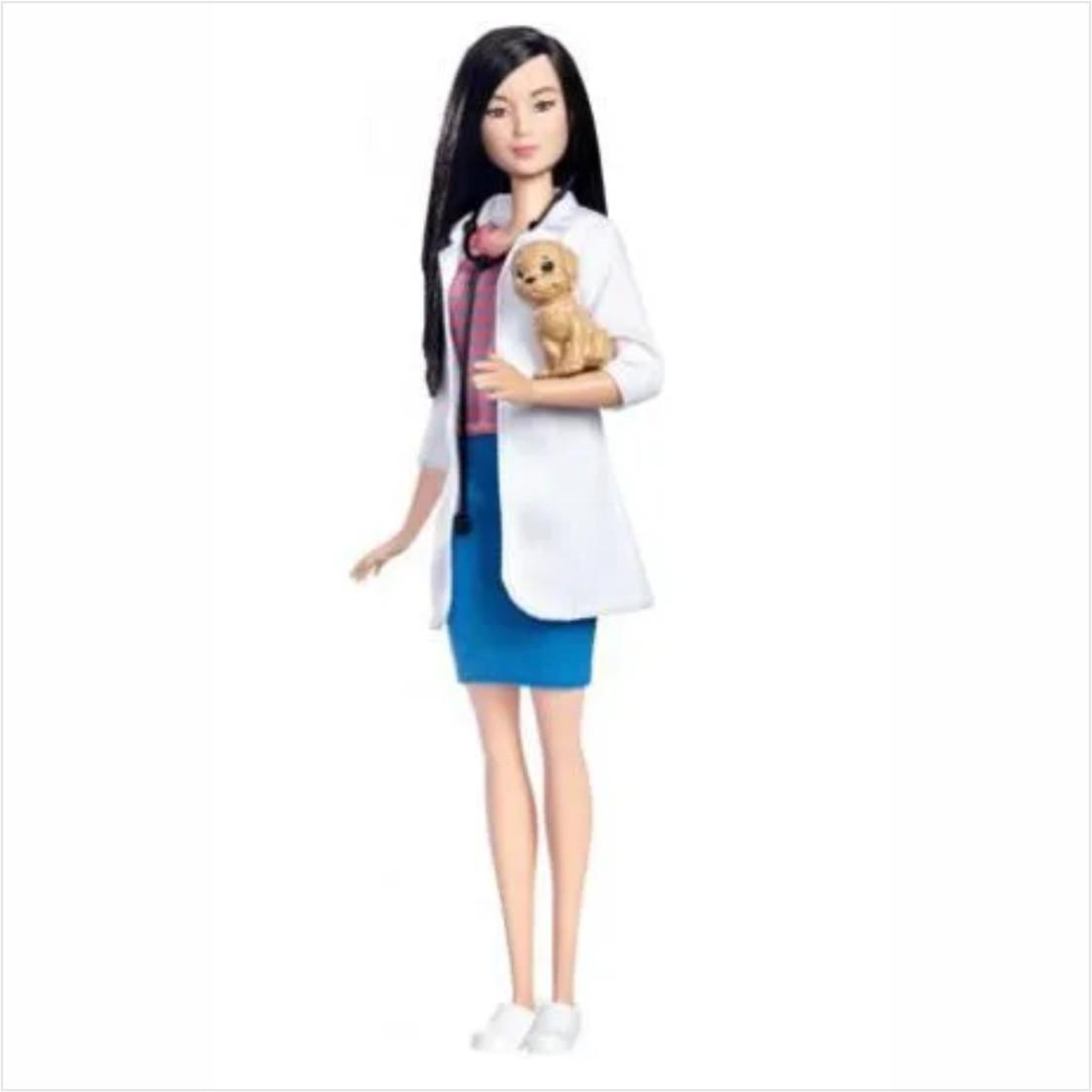 Boneca Barbie Profissões - Veterinária