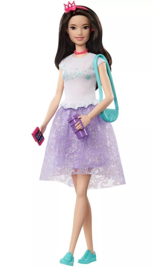 Boneca Barbie Renee Aventura de Princesas