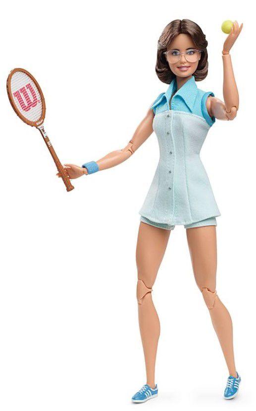 Boneca Barbie Série Mulheres Inspiradoras - Billie Jean King
