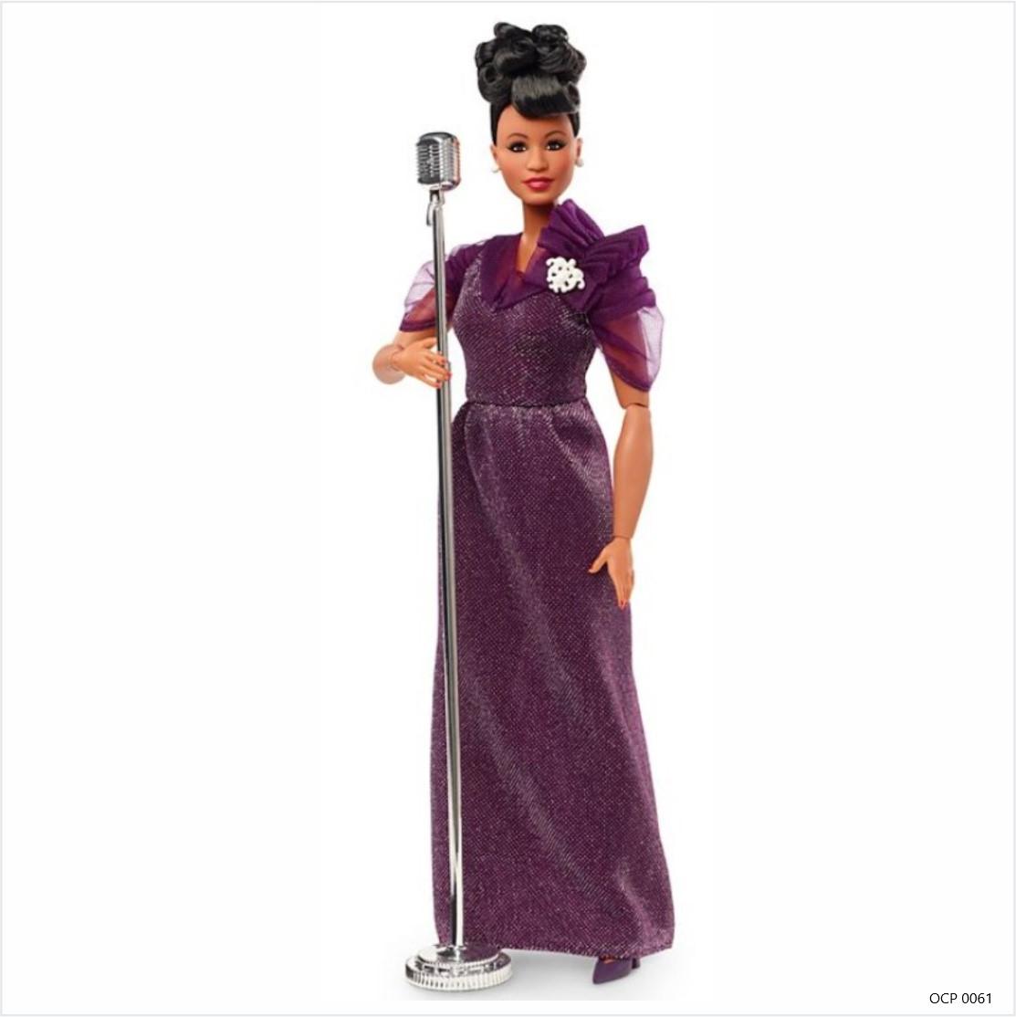 Boneca Barbie Signature Mulheres Inspiradoras Ella Fitzgerald - Mattel