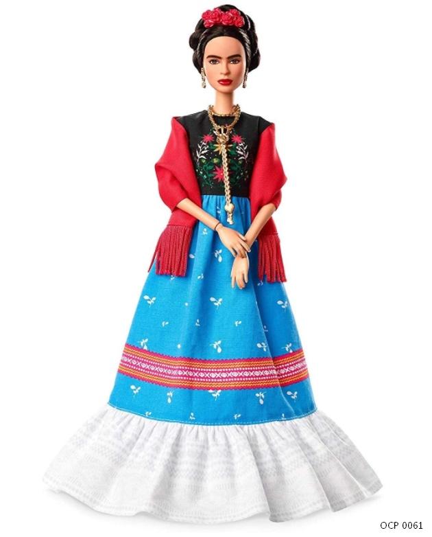 Boneca Barbie Signature Mulheres Inspiradoras Frida Kahlo - Mattel