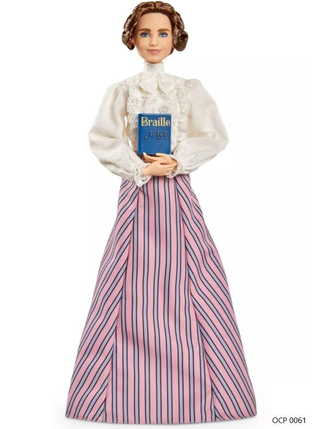 Boneca Barbie Signature Mulheres Inspiradoras Helen Keller - Mattel