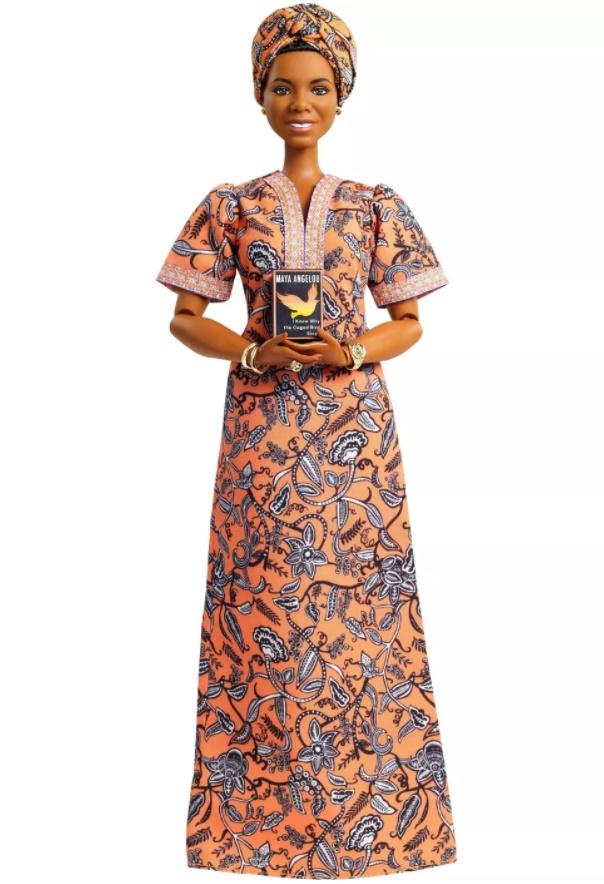 Boneca Barbie Série Mulheres Inspiradoras - Maya Angelou