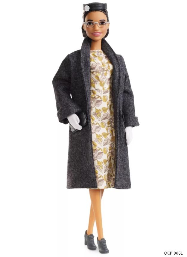 Boneca Barbie Signature Mulheres Inspiradoras - Rosa Parks