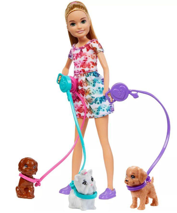 Boneca Barbie Stacie - Filhotes e Playsets