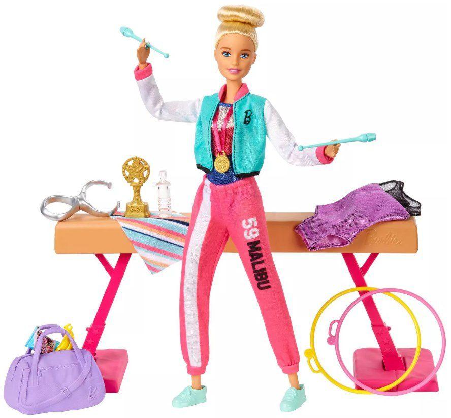 Boneca Barbie Você pode ser Ginasta - Boneca e Playset