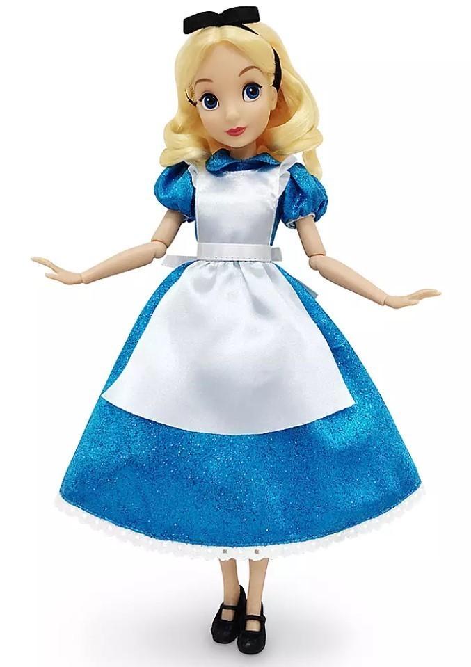 Boneca Clássica Alice - Alice no País das Maravilhas
