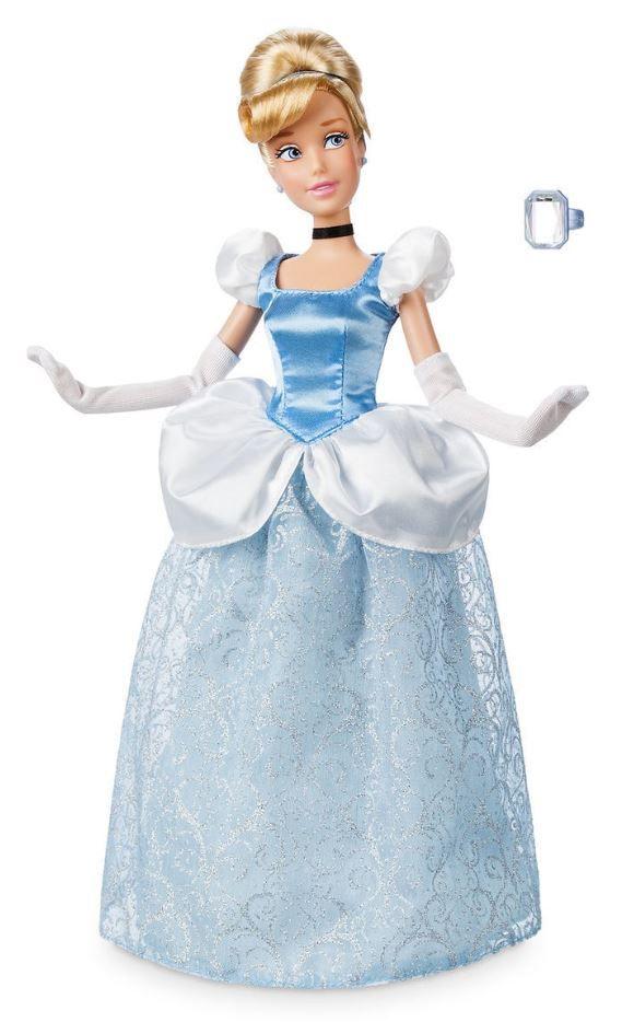 Boneca Clássica Cinderela com Anel