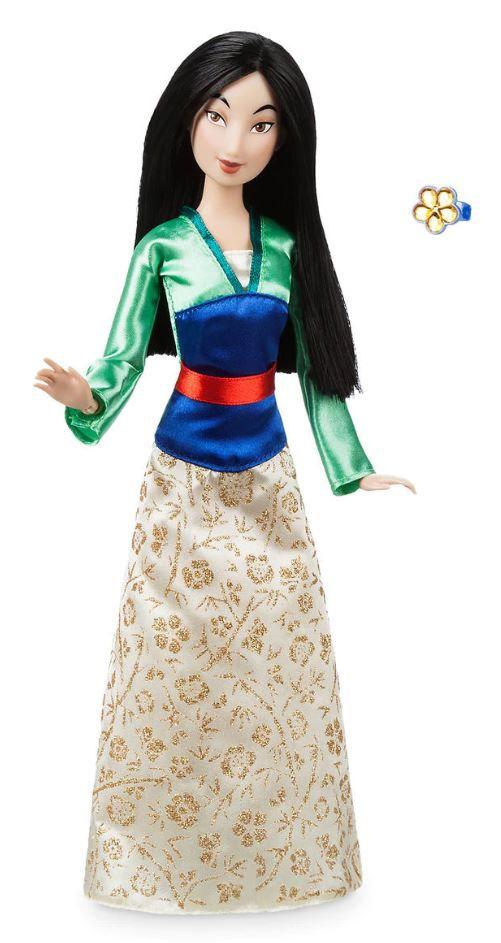 Boneca Clássica Mulan com Anel