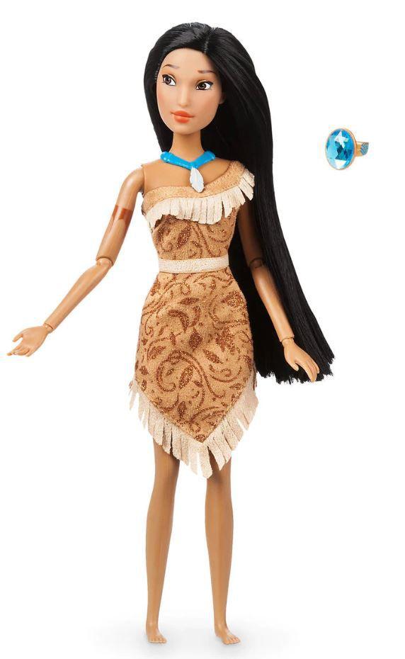Boneca Clássica Pocahontas com Anel