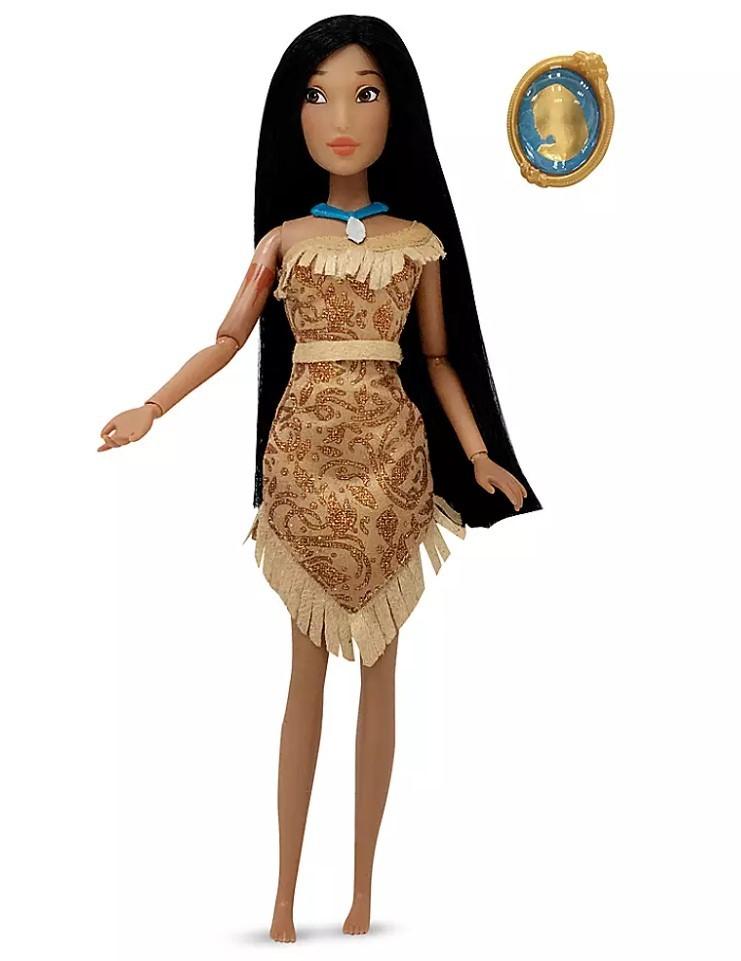 Boneca Clássica Pocahontas com Pingente