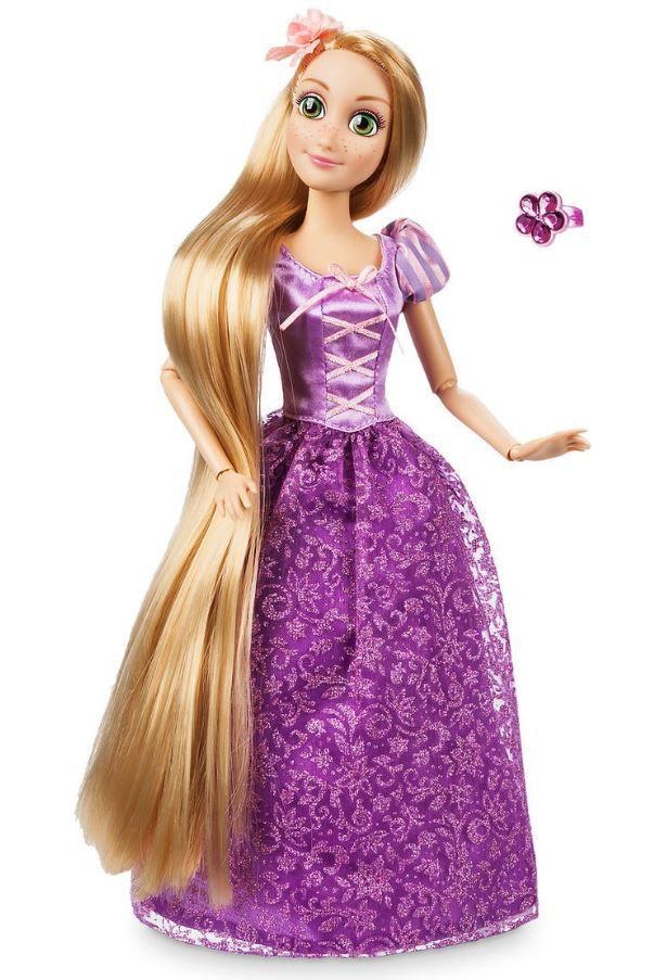 Boneca Clássica Rapunzel com Anel - Enrolados