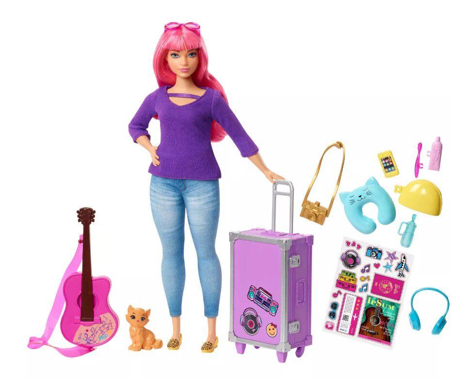 Boneca Barbie Daisy  Viajante Dreamhouse Adventures