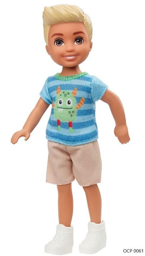 Boneco Barbie Club Chelsea Menino Monstros - Mattel