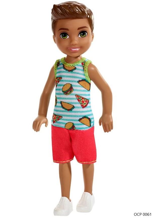 Boneco Barbie Club Chelsea Menino Pizza - Mattel