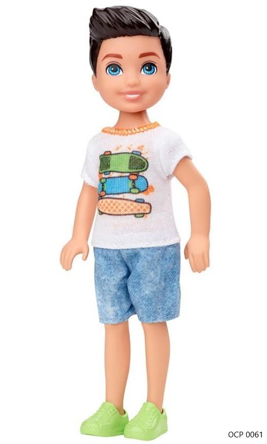Boneco Barbie Club Chelsea Menino Skate - Mattel