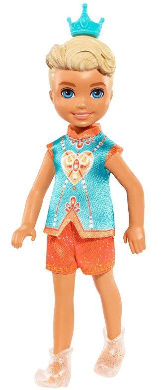 Boneco Barbie Chelsea Dreamtopia Sprite - Menino com Coroa
