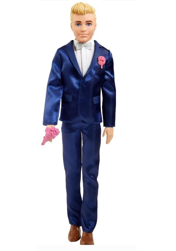 Boneco Ken Conto de Fadas Terno Azul