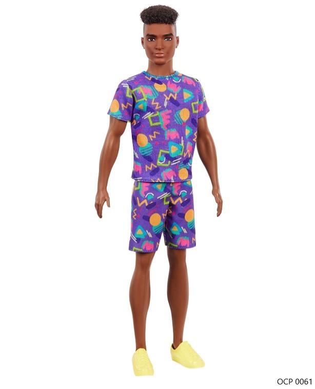 Boneco Ken Fashionistas 162 - Mattel