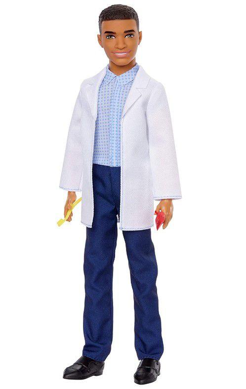 Boneco Ken Profissões - Dentista