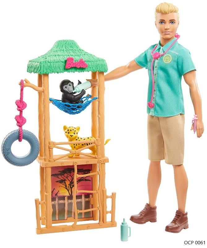 Boneco Ken Profissões Veterinário - Mattel