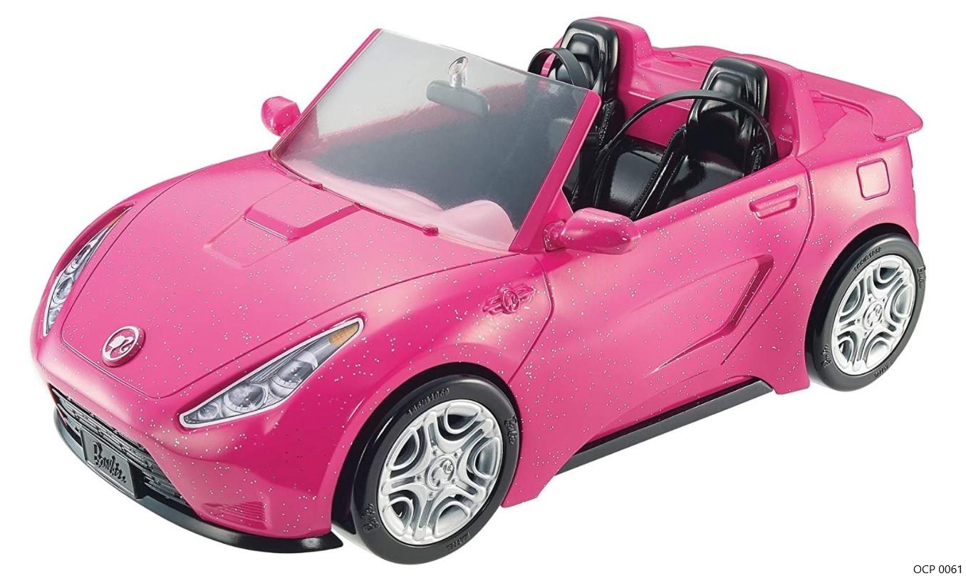 Carro Glam Conversível da Barbie - Mattel