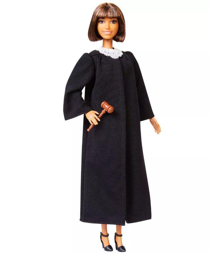 Boneca Barbie Profissões - Juíza Cabelo Castanho Curto