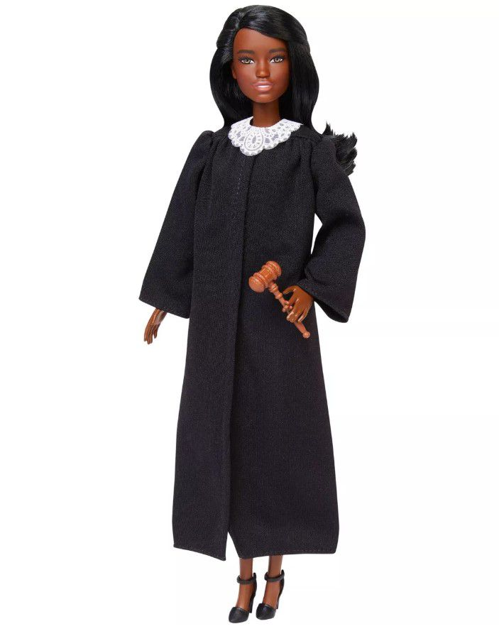 Boneca Barbie Profissões - Juíza Cabelo Castanho Escuro