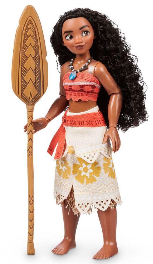 Boneca Clássica Moana - Princesas Disney - Um Mar de Aventuras