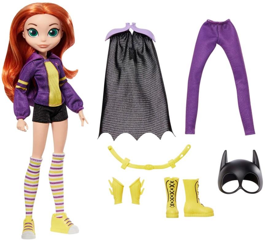 Boneca BatGirl DC Super Hero Girls Transformação 2 em 1