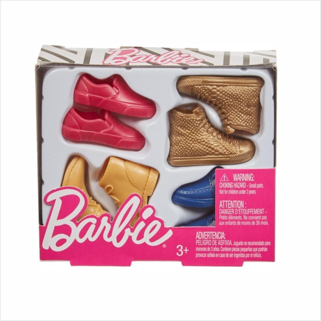 Ken Acessórios - Conjunto de Quatro Pares de Sapatos