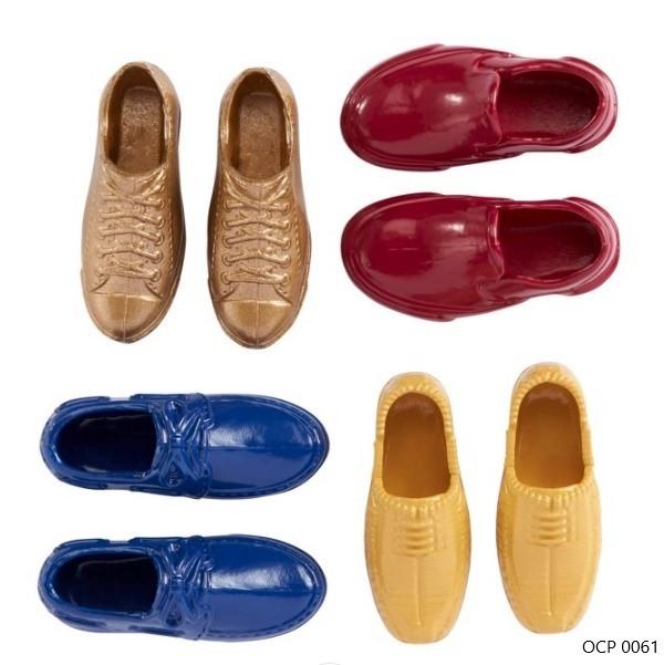 Ken Acessórios Conjunto de Quatro Pares Sapatos - Mattel