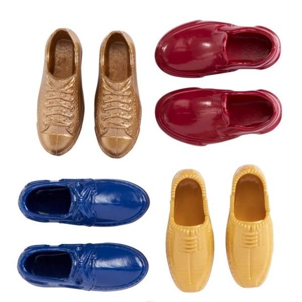 Ken Acessórios - Conjunto de Quatro Pares Sapatos