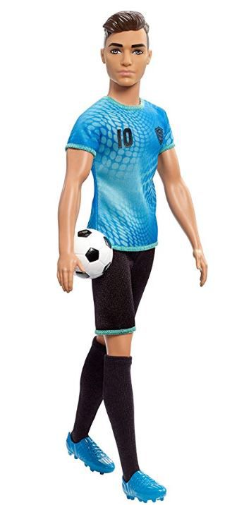 Boneco Ken Profissões - Jogador de Futebol