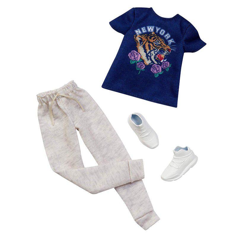 Ken Roupas e Acessórios - Camiseta New York e Moleton - Pack
