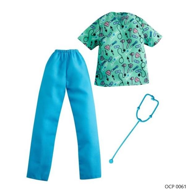 Ken Roupas e Acessórios Conjunto Médico - Mattel