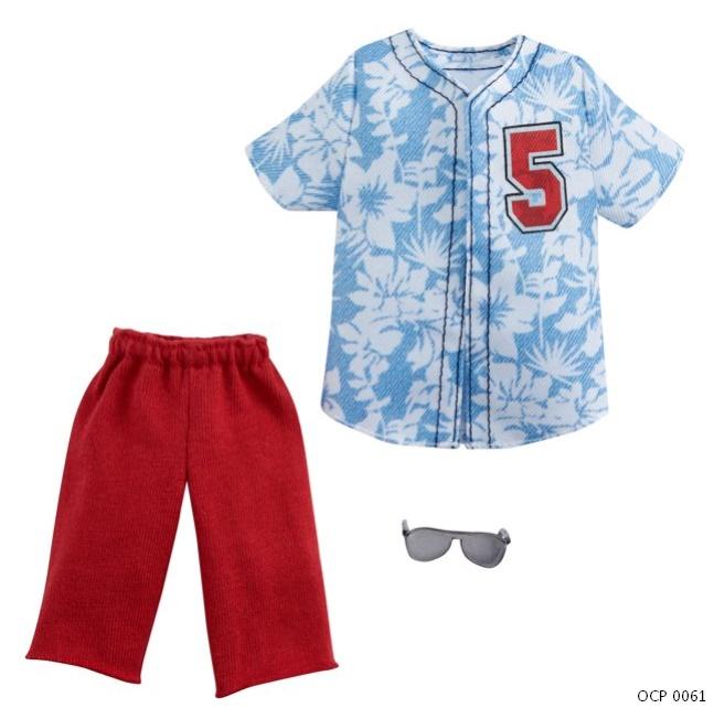 Ken Roupas e Acessórios Camisa e Shorts - Mattel