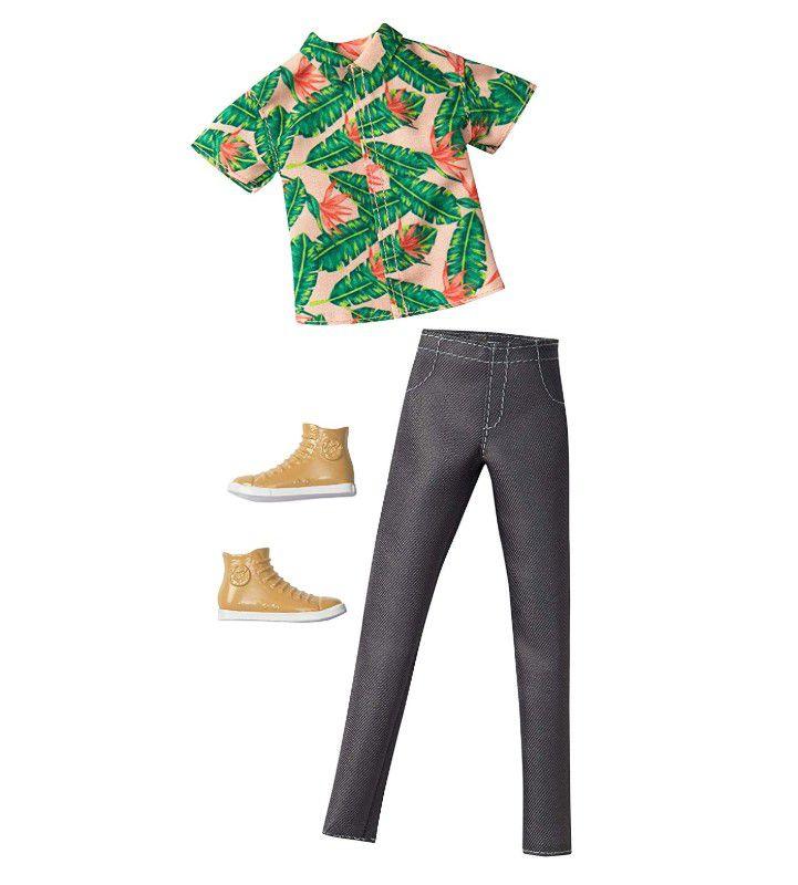 Ken Roupas e Acessórios - Camiseta Moda Havaiana e  Calça Jeans