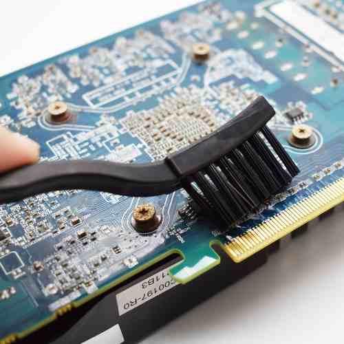 Escova Anti-estática Esd Limpeza Circuitos Pcb Eletronica