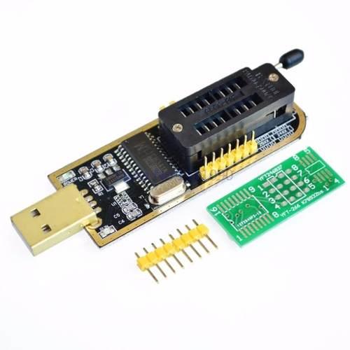 Gravador Ch341a Ch341 + Pinça Soic + Adaptadores + 1.8v Soic