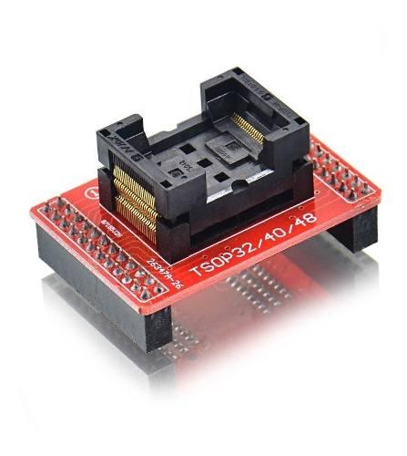 Adaptador Eprom Psop44 Tsop32 40 48 Minipro Tl866 Tl866cs TL866II PLUS