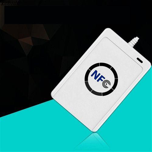 Leitor Gravador Nfc Acr122u Rfid 13.56mhz + 5 Cartão Acesso
