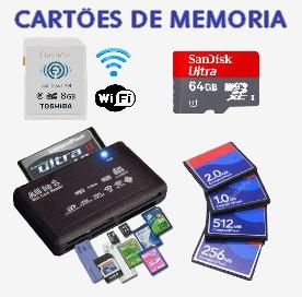 Clique para ver Cartões de Memoria e Acessórios