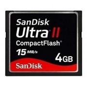Cartão De Memória Compact Flash Cf 4gb Sandisk Ultra II