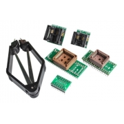 Kit Adaptador Tl866 Tl866cs Plcc32 Soic8 Extrator Bios