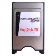 Leitor Pcmcia Sandisk Encaixe 50 Para 68 Pinos Compact Flash