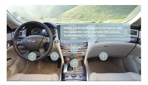 Scanner Automotivo Obd Obd2 Bluetooth Android V2.1 Ecu Portugues Le Apaga Corrige Módulo Carro Computador Bordo