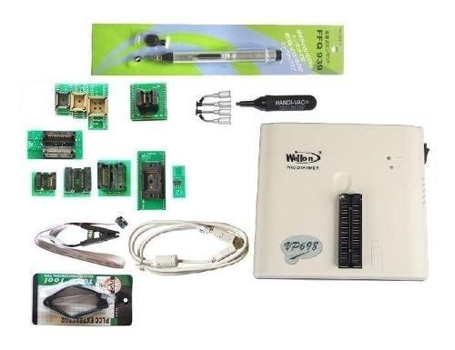 Wellon Vp-698 Gravador Eprom Programador 48 Pinos + 19 Itens