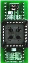 Adaptador Plcc44 Para Dip40 Com Jumper Gq-4x Tl866ii MCU e Memorias